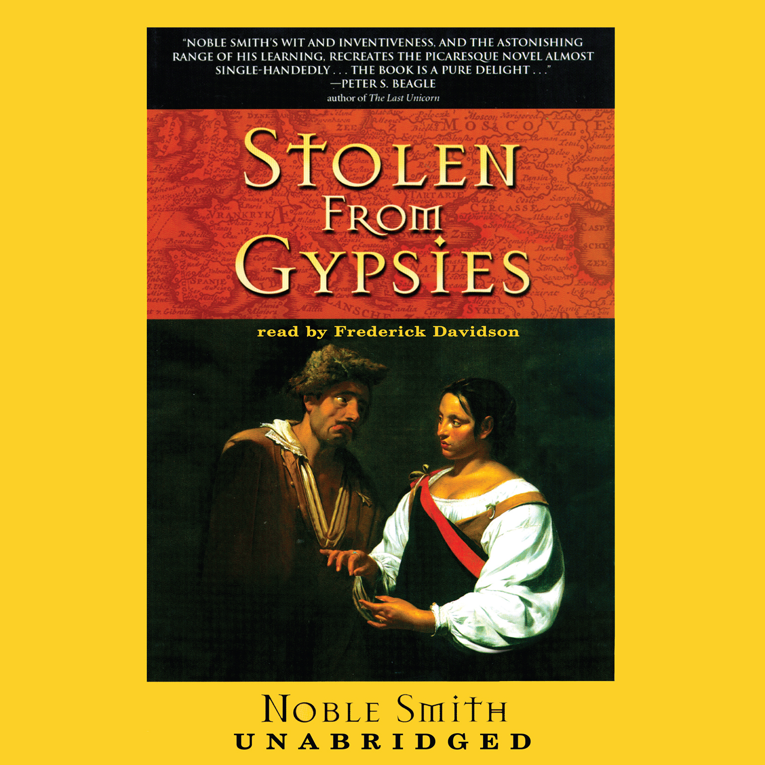 Printable Stolen from Gypsies Audiobook Cover Art