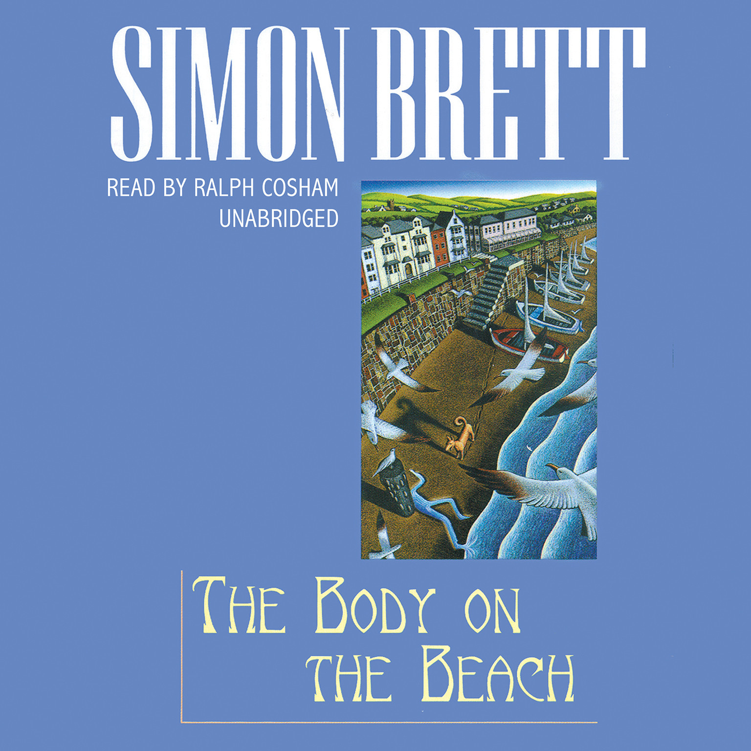 Printable The Body on the Beach: A Fethering Mystery Audiobook Cover Art