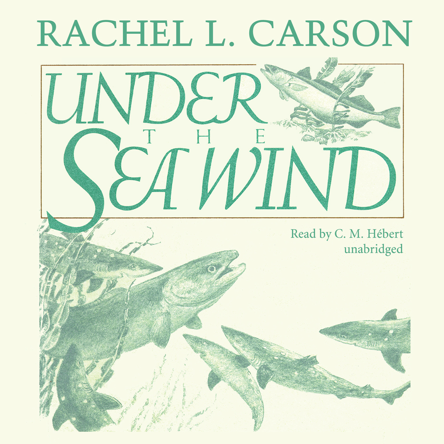 Printable Under the Sea Wind: A Naturalist's Picture of Ocean Life Audiobook Cover Art