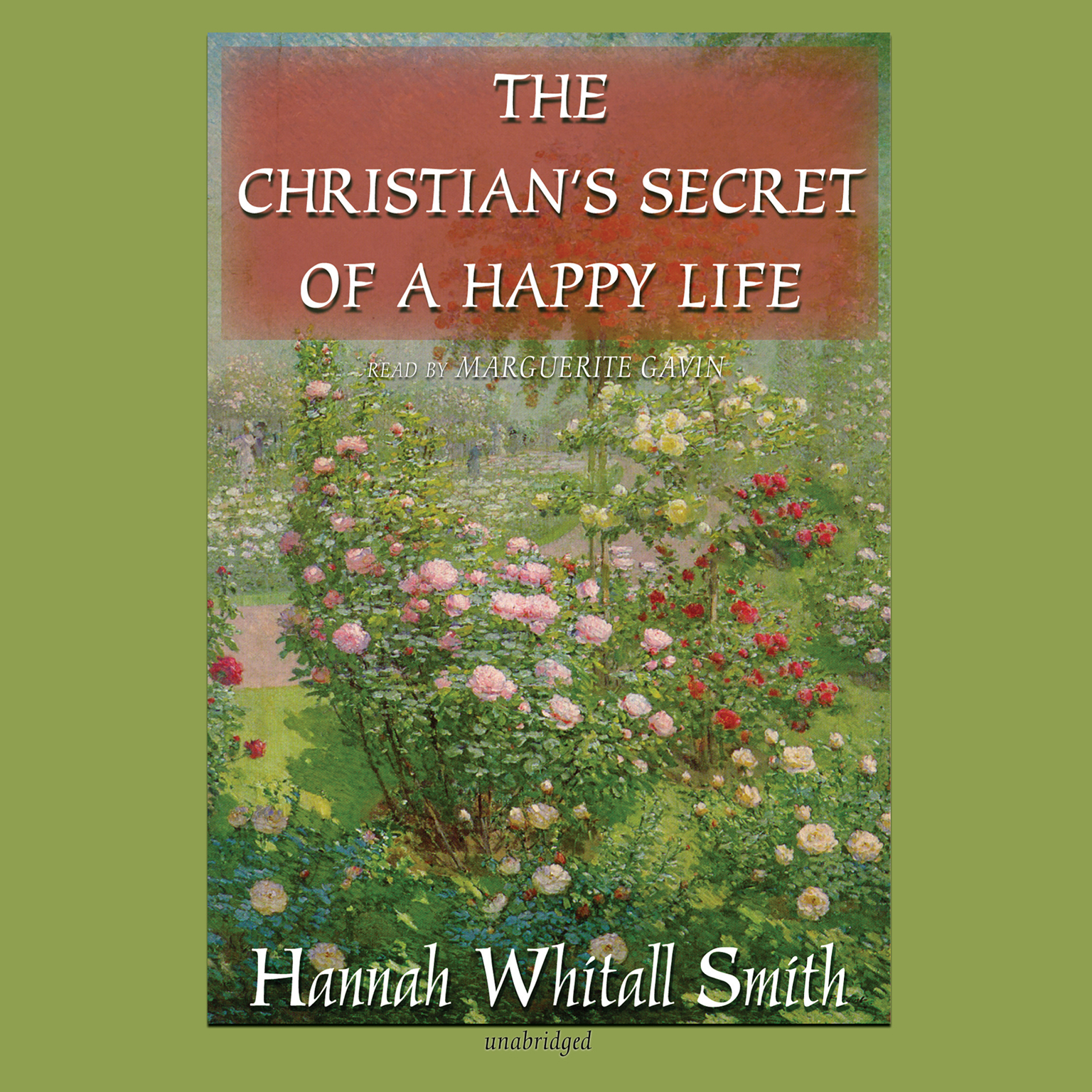 Printable The Christian's Secret of a Happy Life Audiobook Cover Art