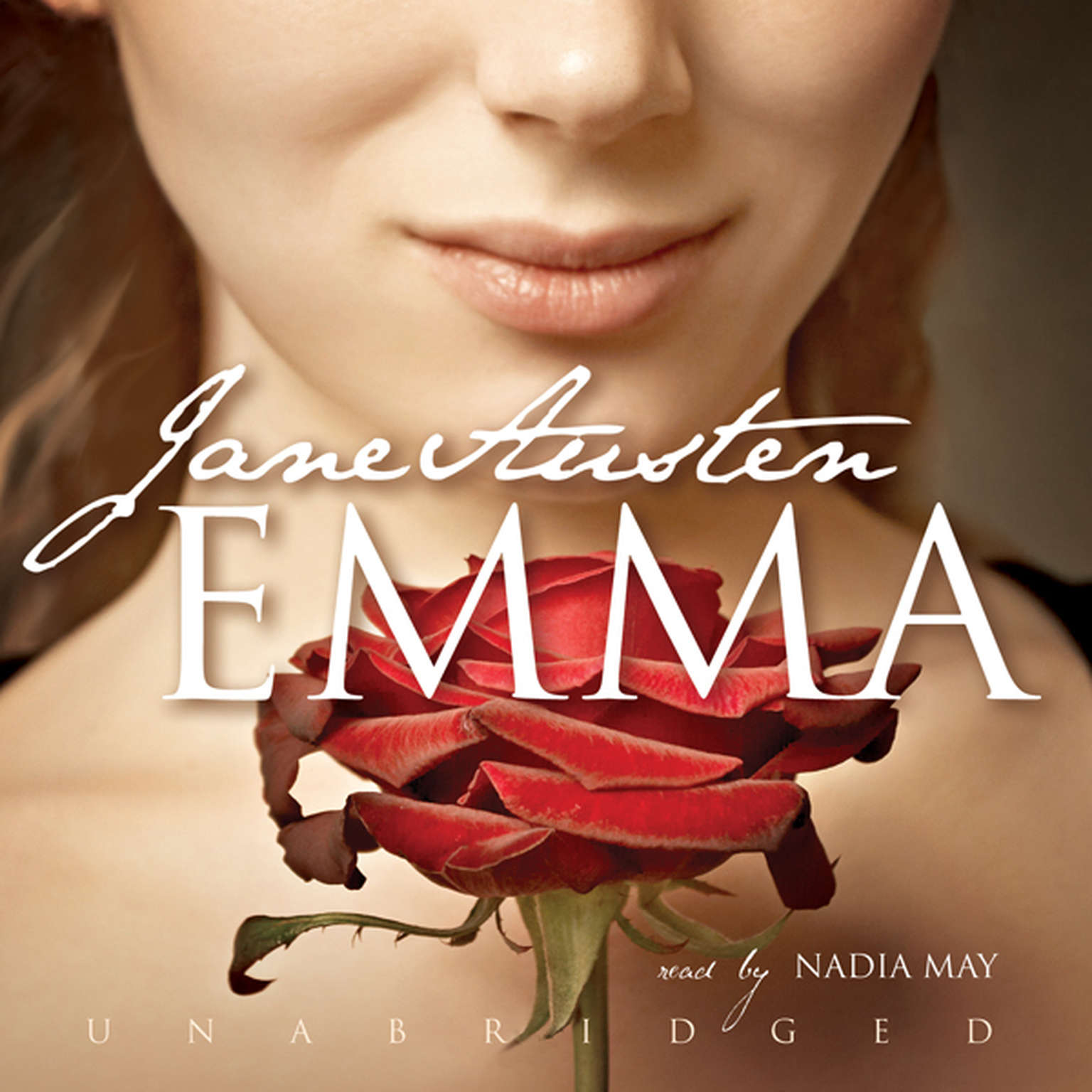 Printable Emma Audiobook Cover Art