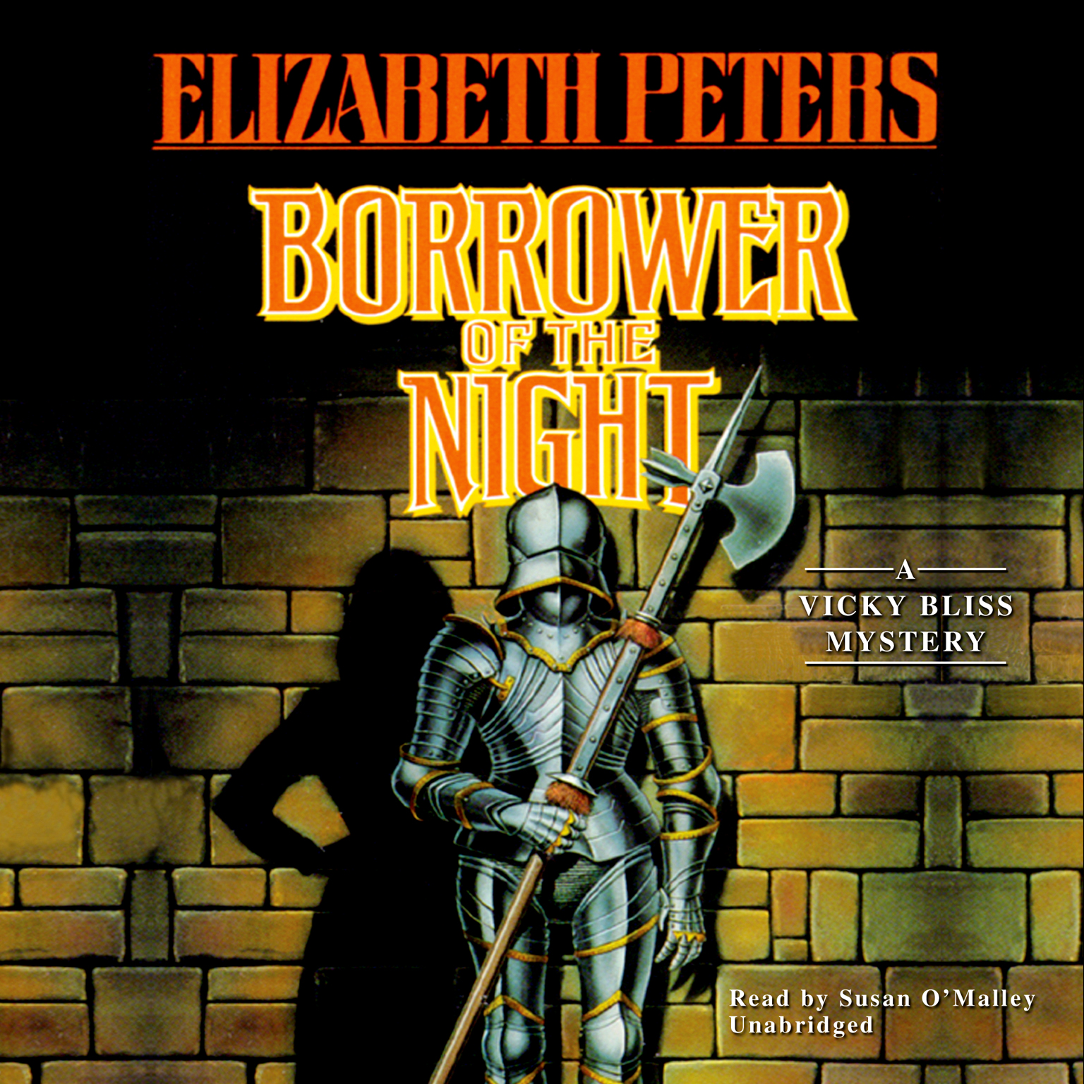 Printable Borrower of the Night: The First Vicky Bliss Mystery Audiobook Cover Art