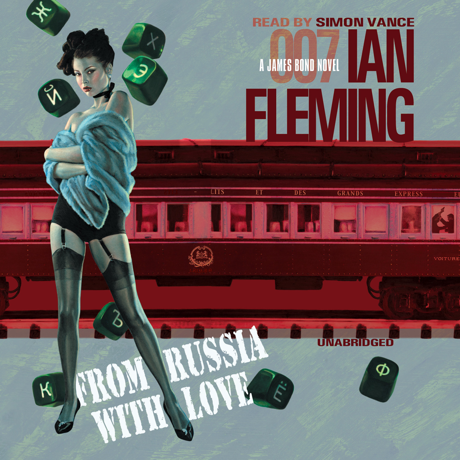 Printable From Russia with Love Audiobook Cover Art