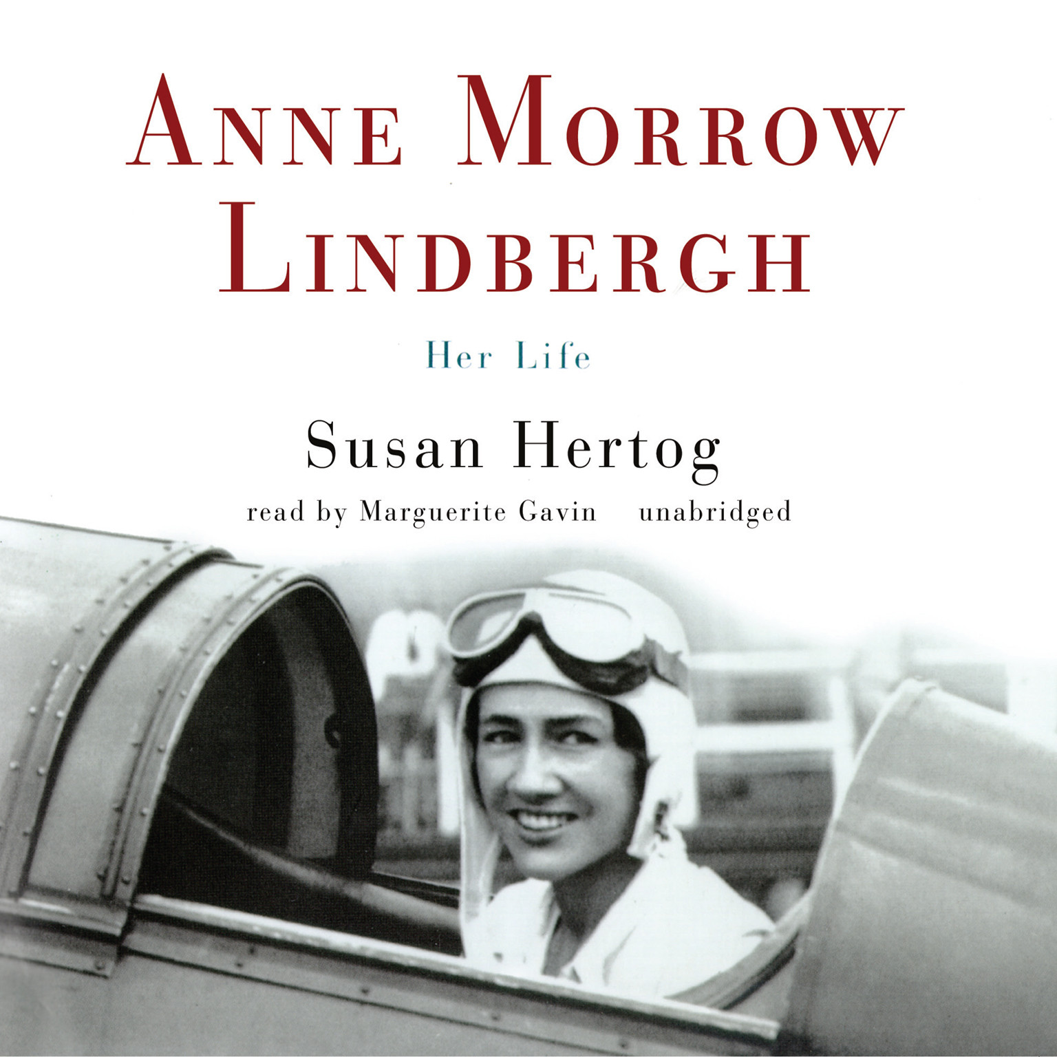 Printable Anne Morrow Lindbergh: Her Life Audiobook Cover Art