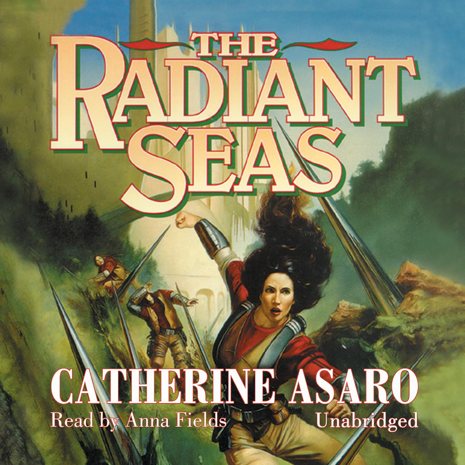 Printable The Radiant Seas Audiobook Cover Art