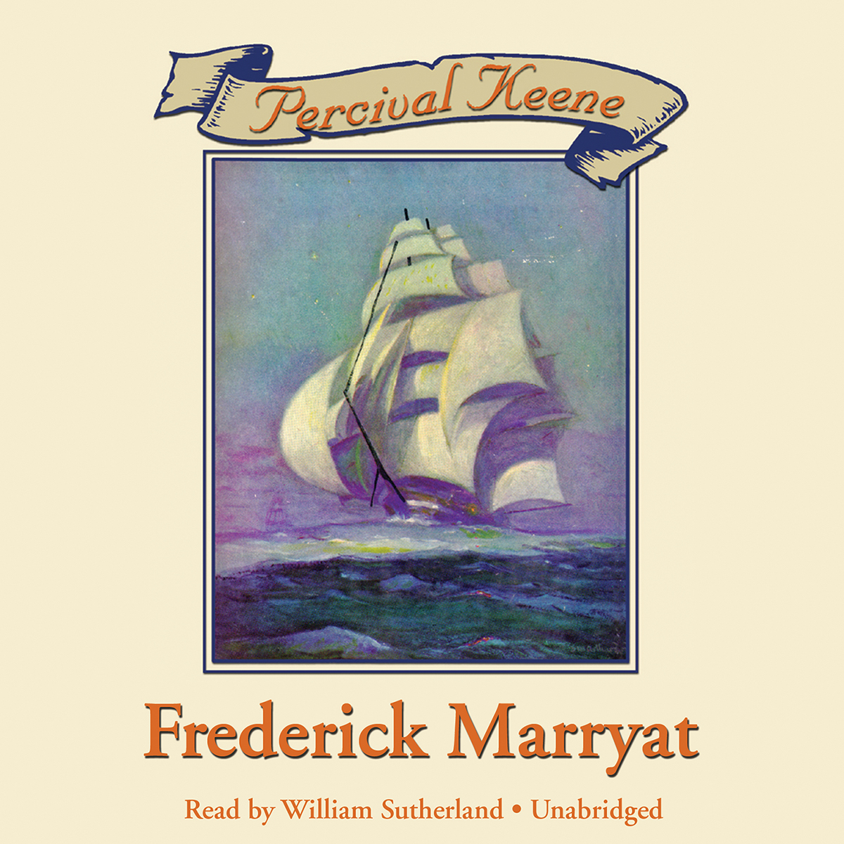Printable Percival Keene Audiobook Cover Art