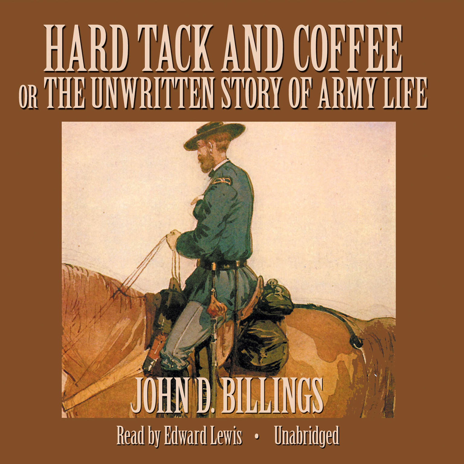 Printable Hard Tack and Coffee: or, The Unwritten Story of Army Life Audiobook Cover Art