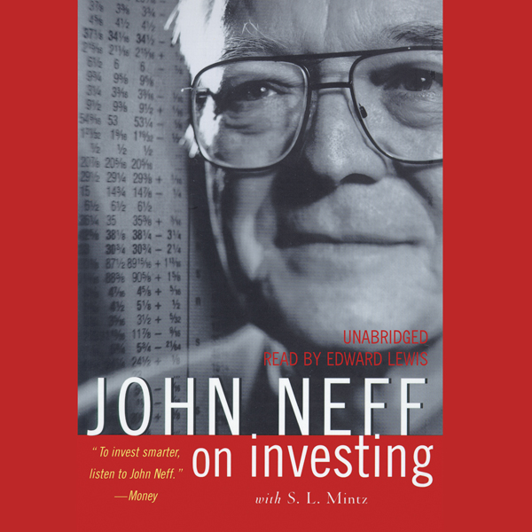 Printable John Neff on Investing Audiobook Cover Art