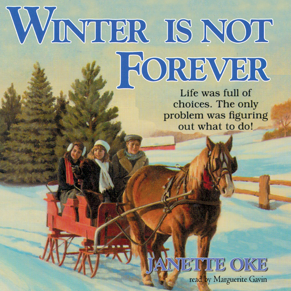 Printable Winter Is Not Forever Audiobook Cover Art