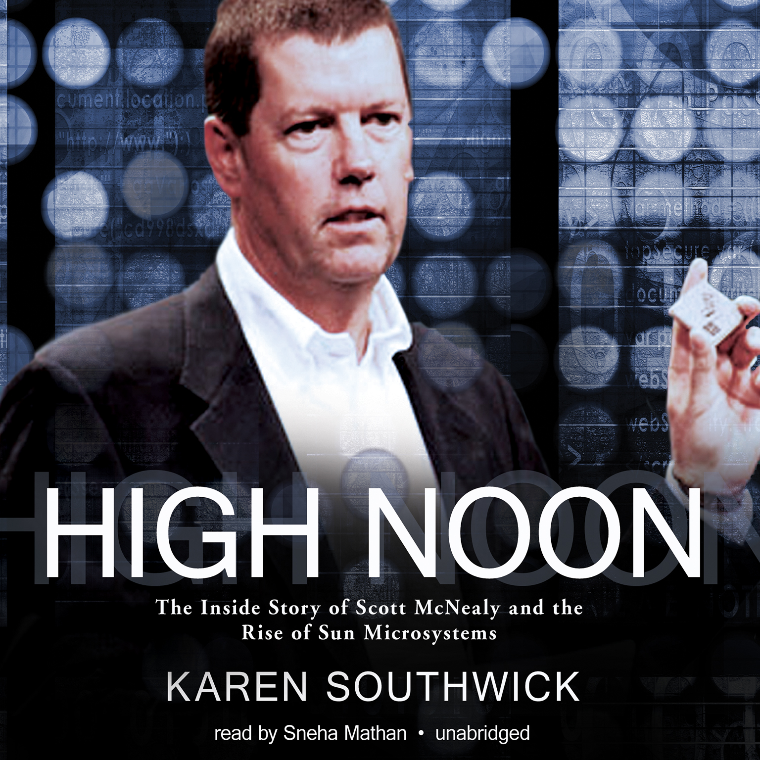 Printable High Noon: The Inside Story of Scott McNealy and the Rise of Sun Microsystems Audiobook Cover Art