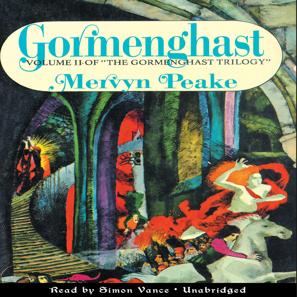 Printable Gormenghast Audiobook Cover Art