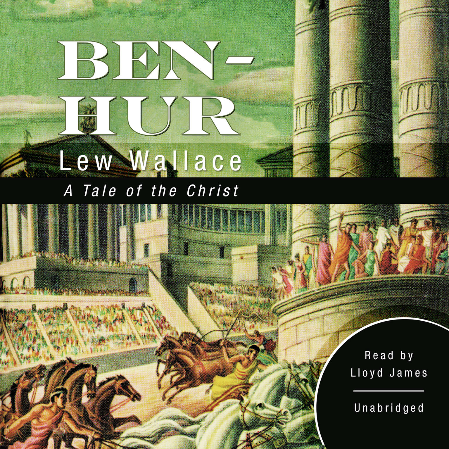 Printable Ben-Hur: A Tale of the Christ Audiobook Cover Art