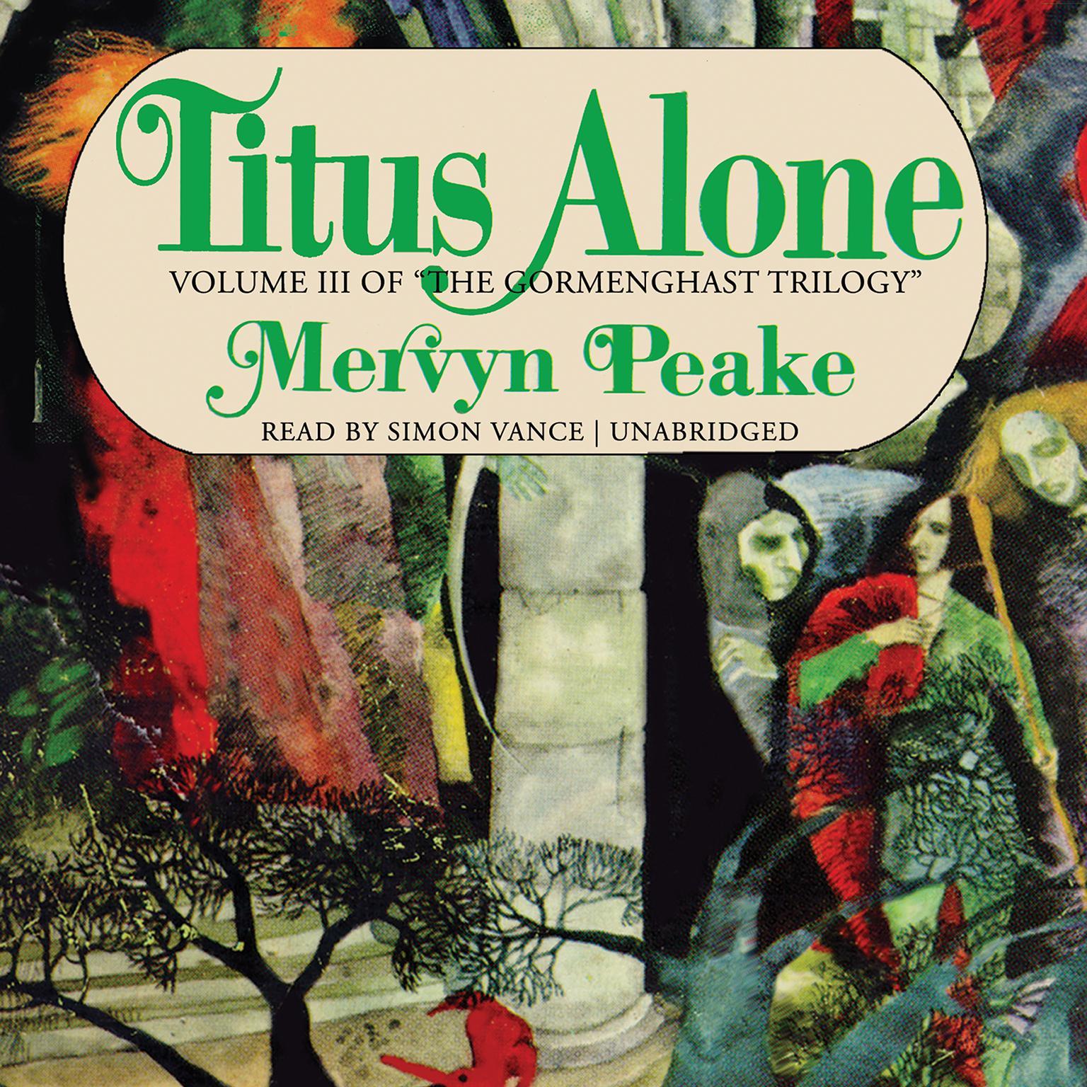 Printable Titus Alone Audiobook Cover Art