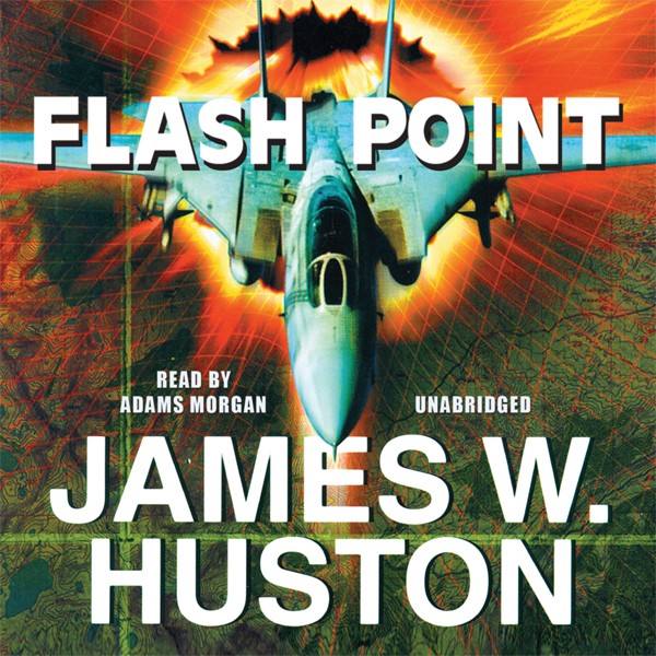 Printable Flash Point: A Novel Audiobook Cover Art