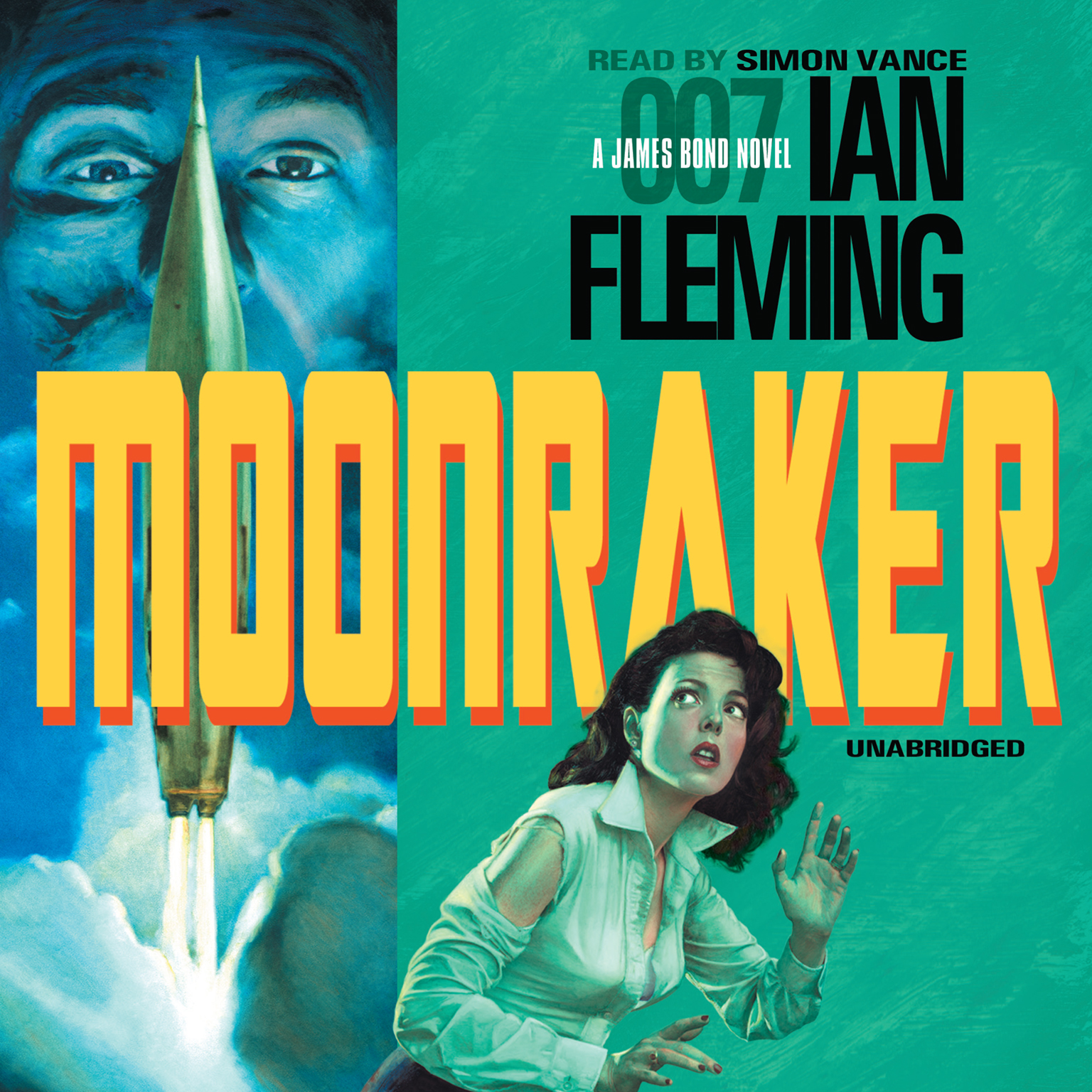 Printable Moonraker Audiobook Cover Art