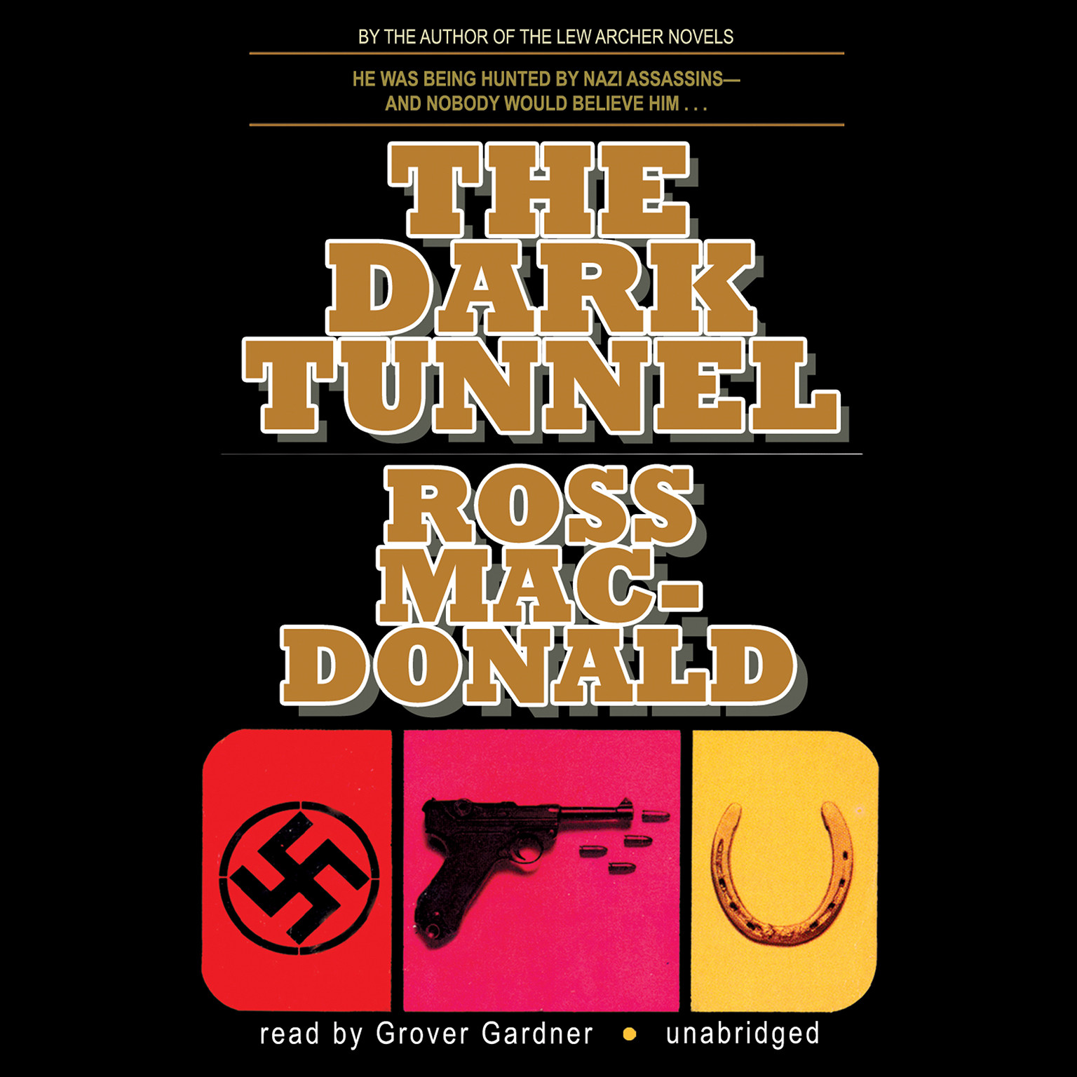 Printable The Dark Tunnel Audiobook Cover Art