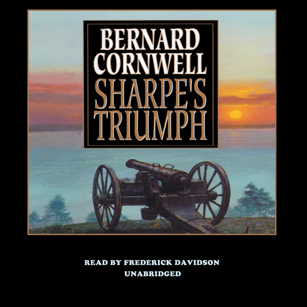 Printable Sharpe's Triumph: Richard Sharpe and the Battle of Assaye, September 1803 Audiobook Cover Art