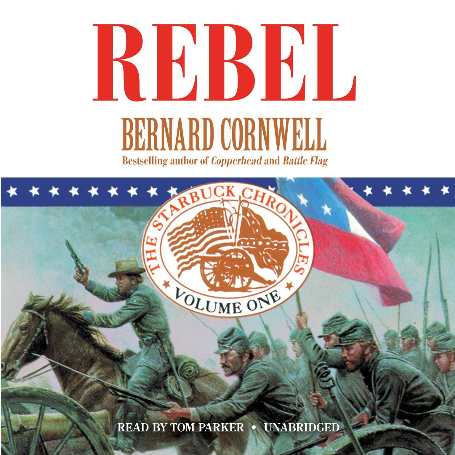 Printable Rebel Audiobook Cover Art