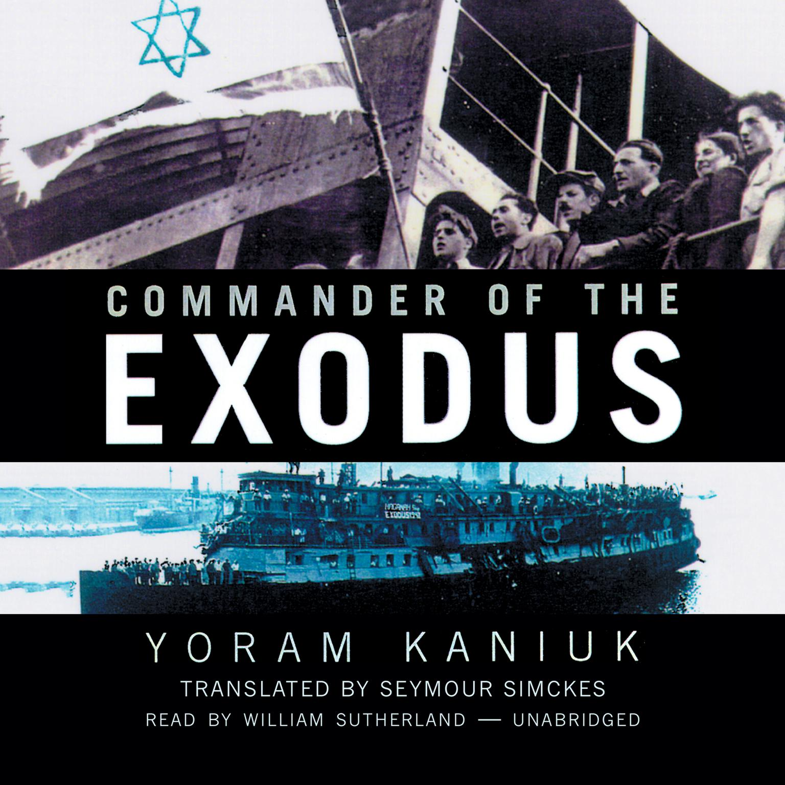 Printable Commander of the Exodus Audiobook Cover Art