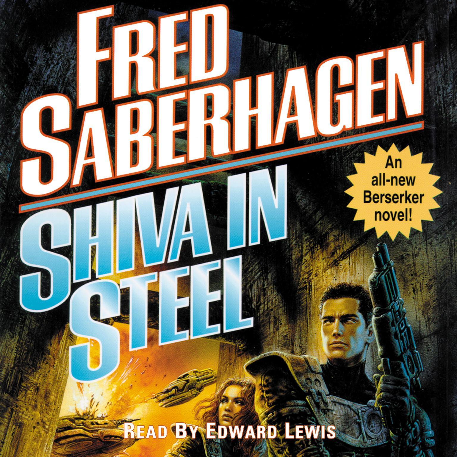 Printable Shiva in Steel Audiobook Cover Art