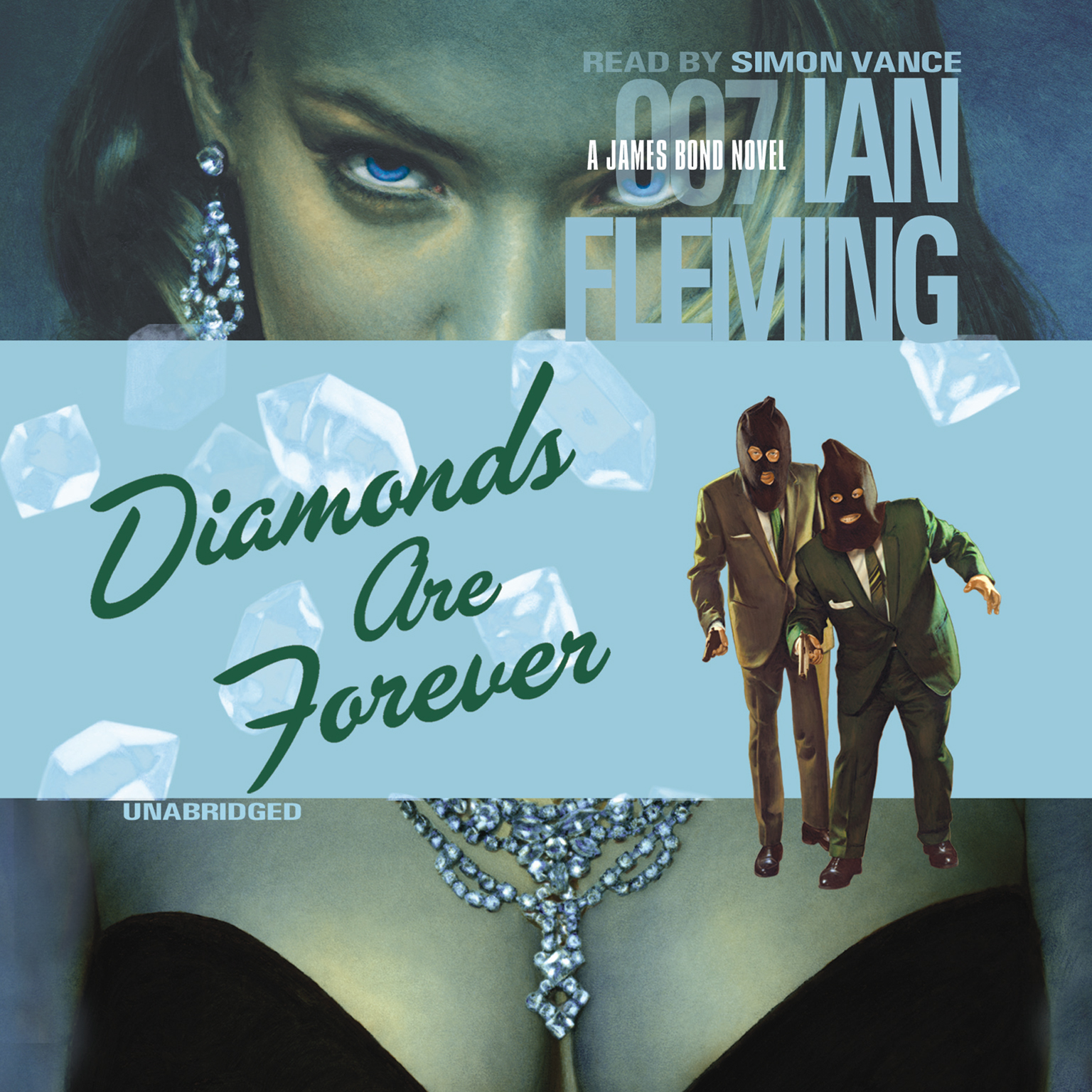 Printable Diamonds Are Forever Audiobook Cover Art