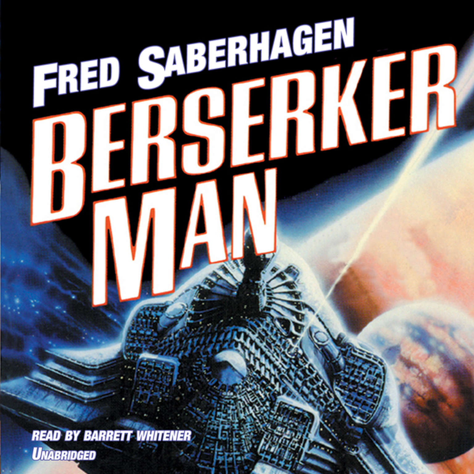 Printable Berserker Man Audiobook Cover Art
