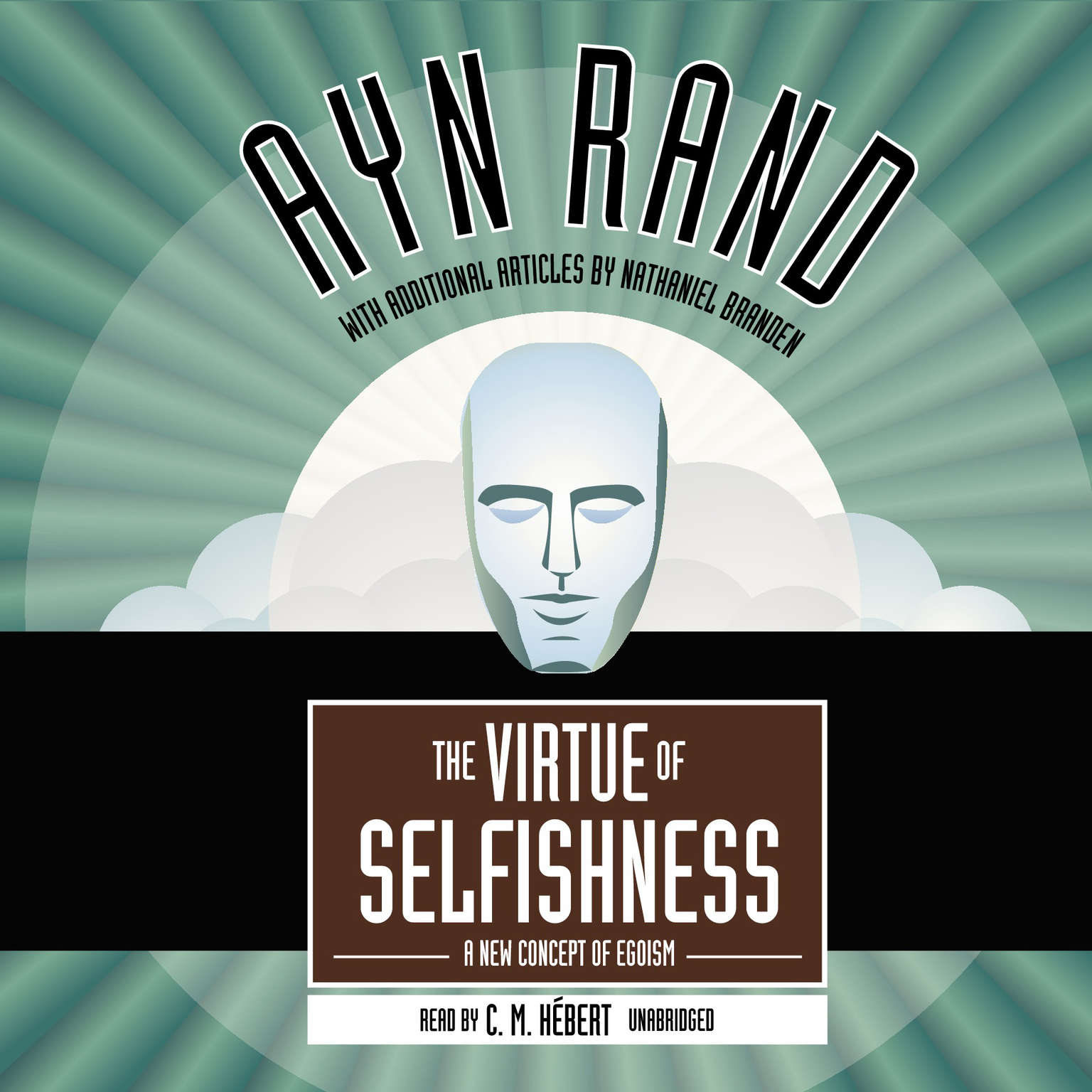 Printable The Virtue of Selfishness: A New Concept of Egoism Audiobook Cover Art