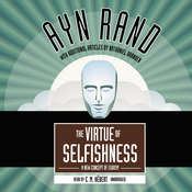 The Virtue of Selfishness: A New Concept of Egoism Audiobook, by Ayn Rand, Nathaniel Branden