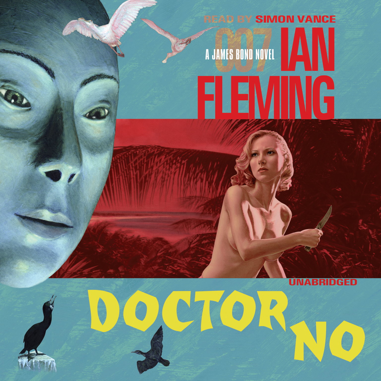 Printable Doctor No Audiobook Cover Art
