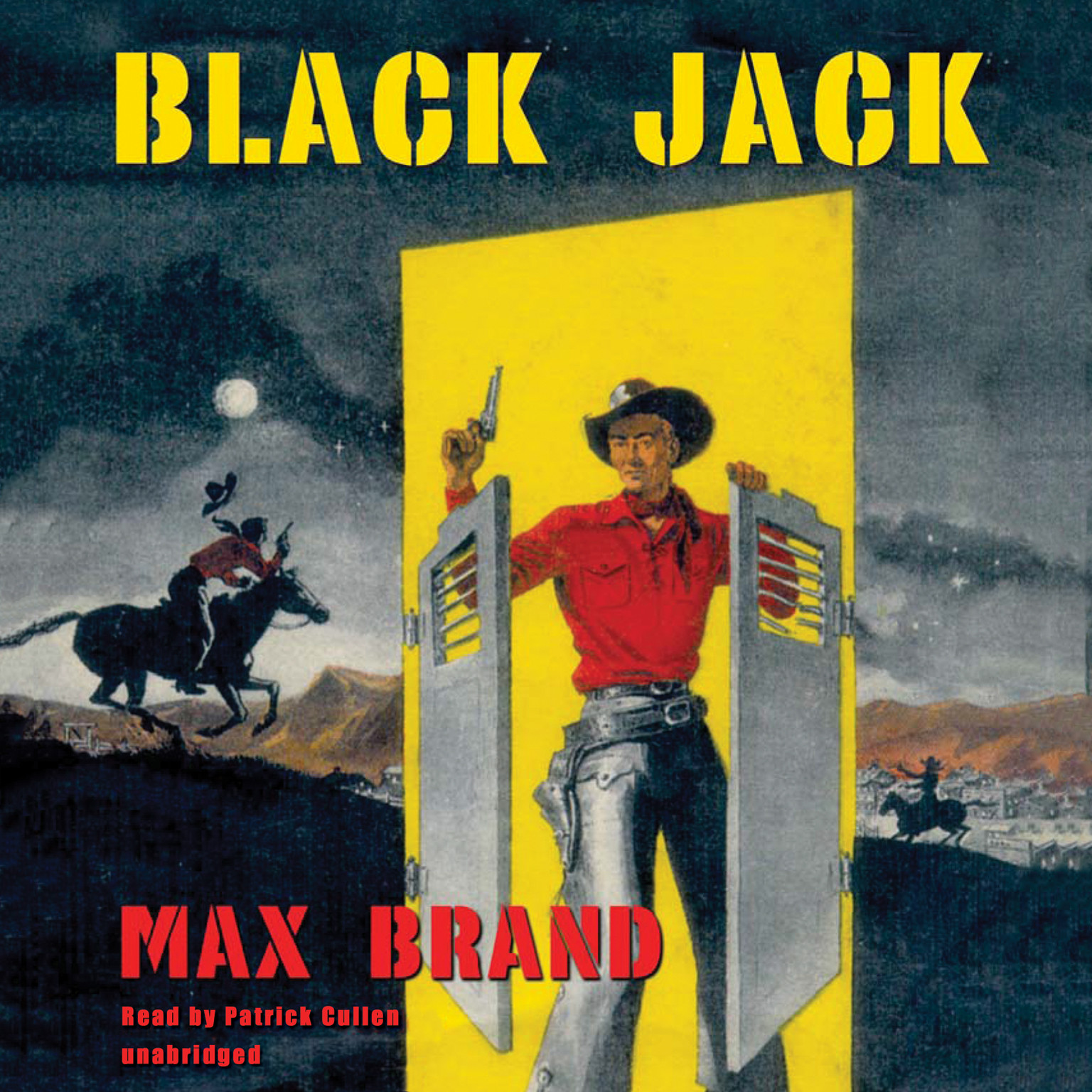 Printable Black Jack Audiobook Cover Art