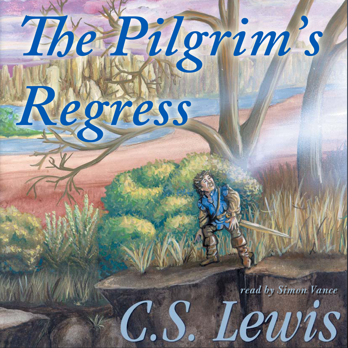 Printable The Pilgrim's Regress: An Allegorical Apology for Christianity, Reason, and Romanticism Audiobook Cover Art