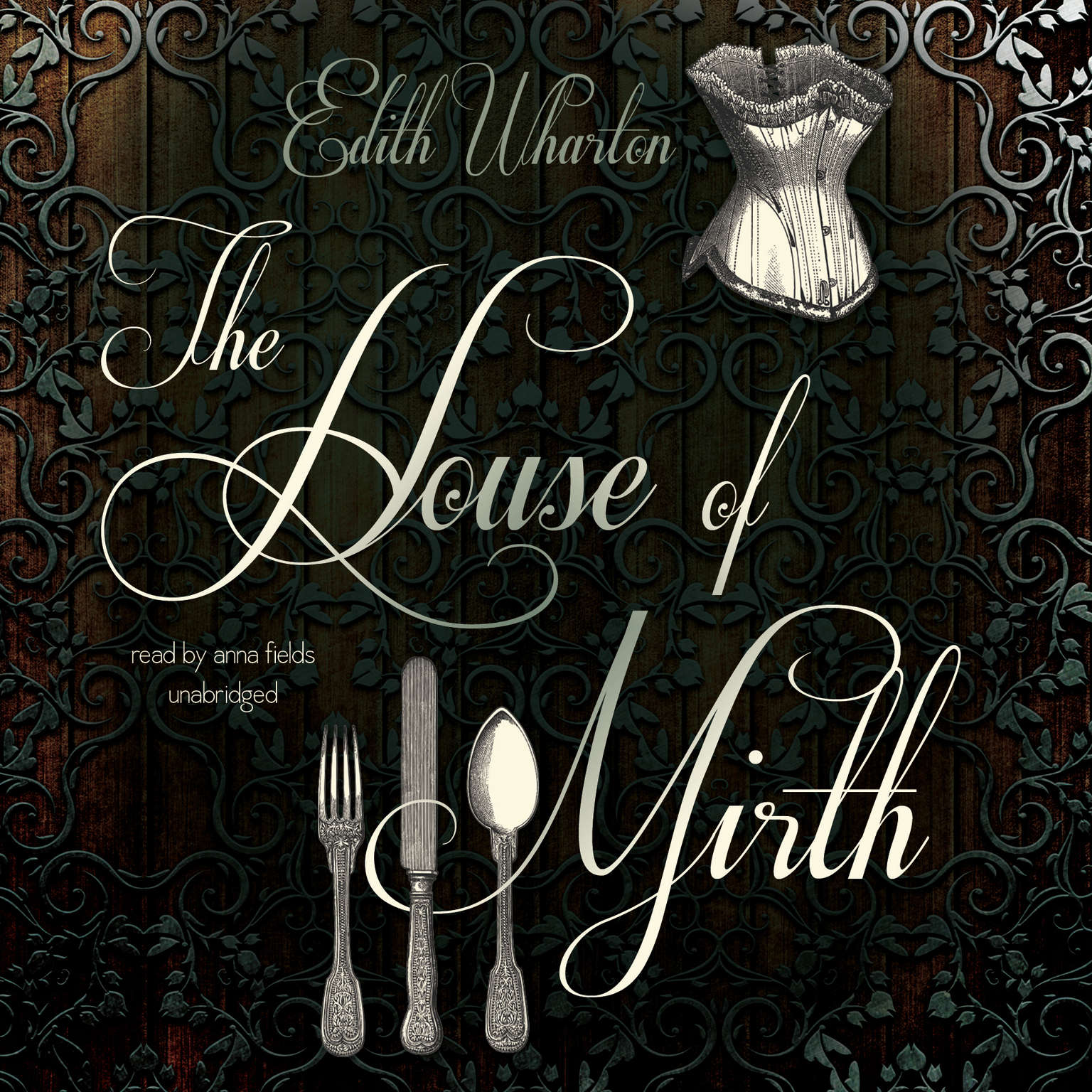 Printable The House of Mirth Audiobook Cover Art