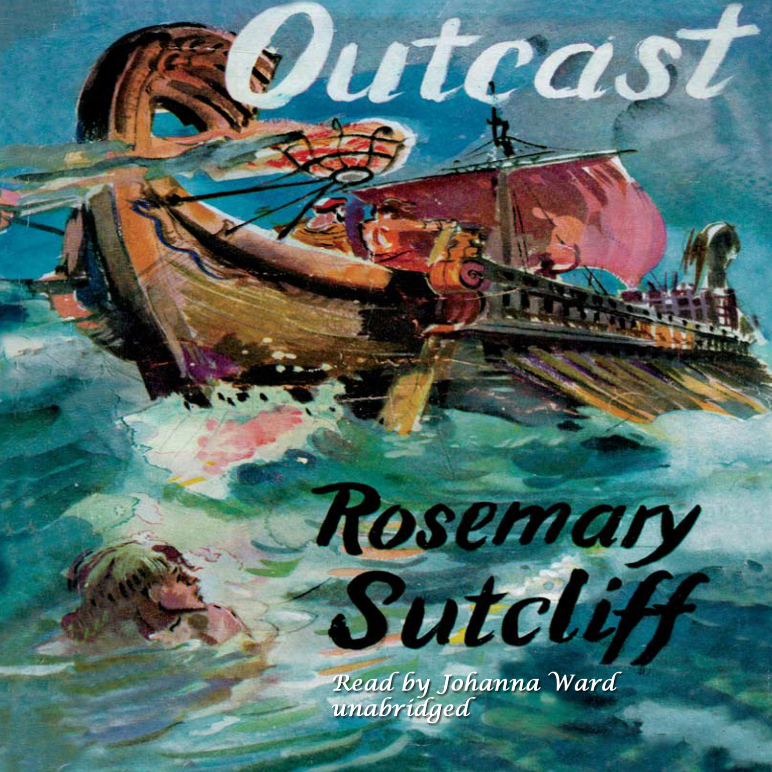 Printable Outcast Audiobook Cover Art