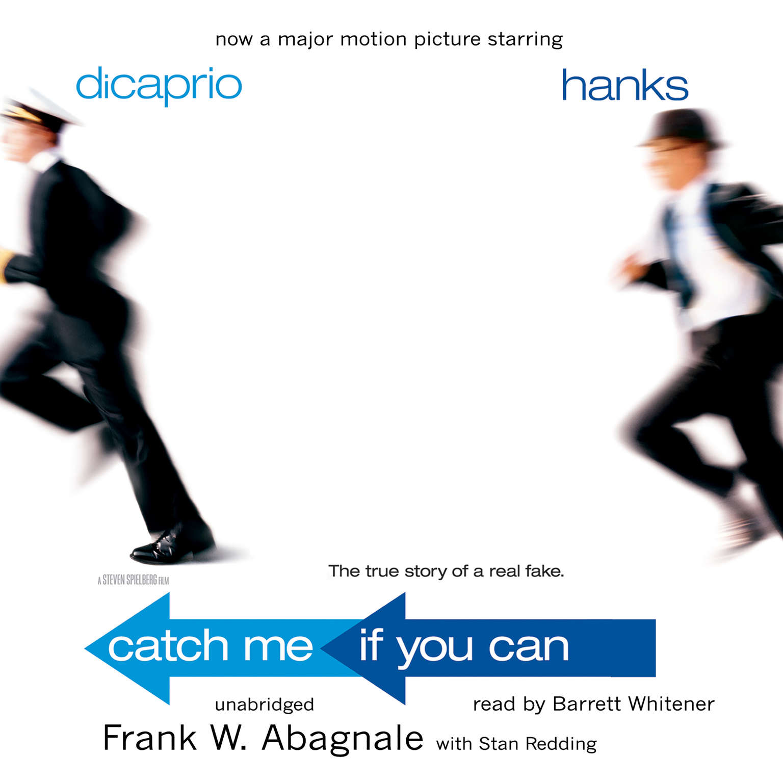 Printable Catch Me If You Can: The True Story of a Real Fake Audiobook Cover Art