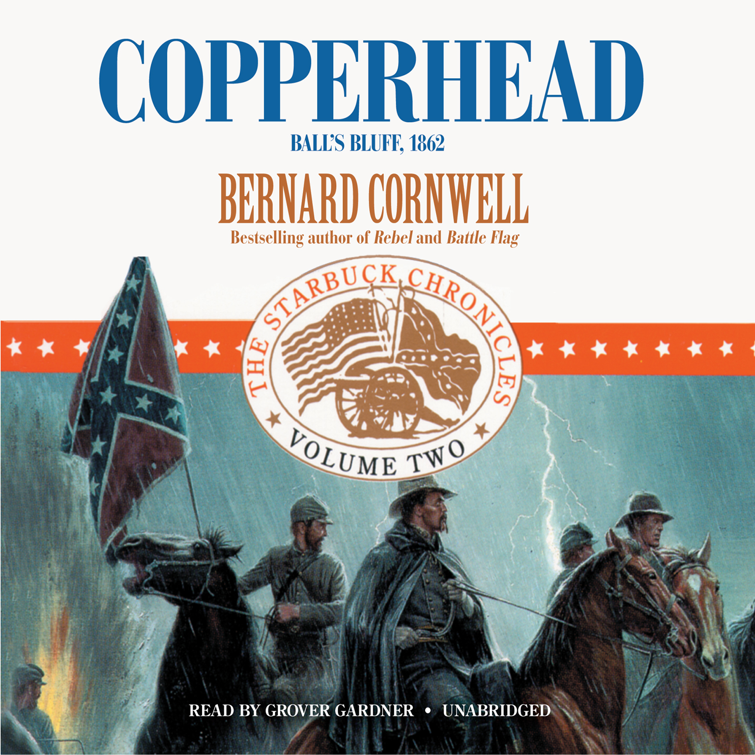 Printable Copperhead: Ball's Bluff, 1862 Audiobook Cover Art