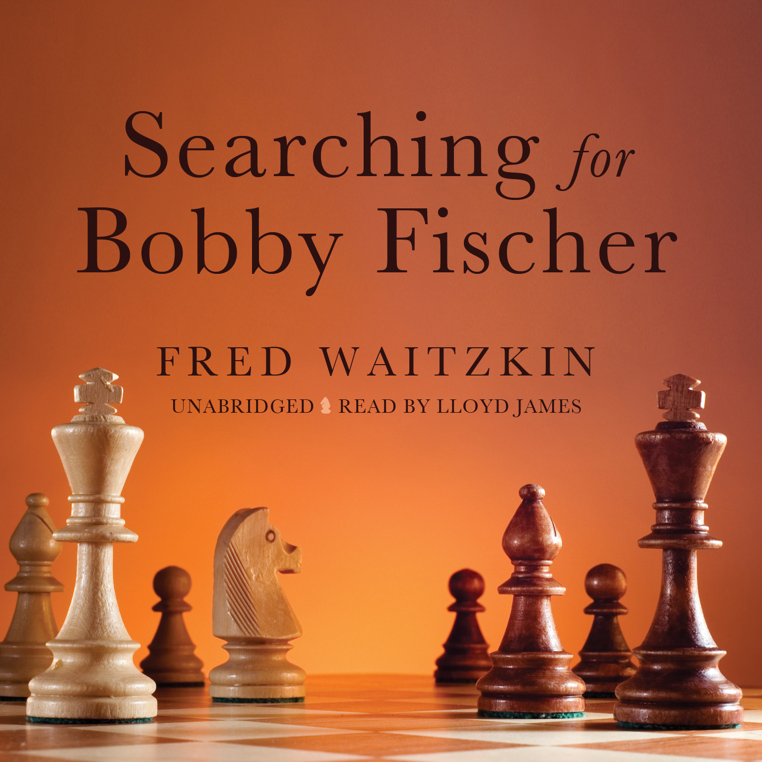 Printable Searching for Bobby Fischer: The Father of a Prodigy Observes the World of Chess Audiobook Cover Art