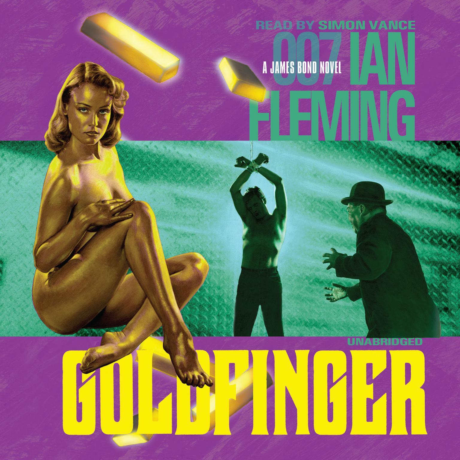 Printable Goldfinger Audiobook Cover Art