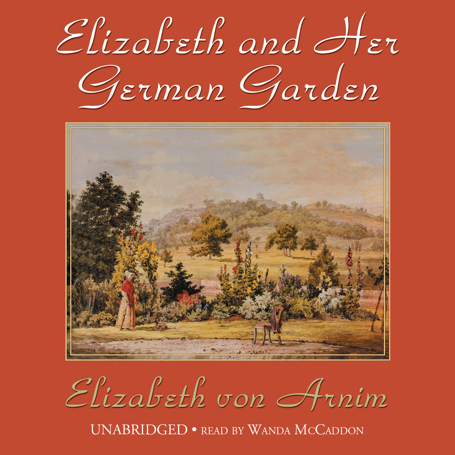 Printable Elizabeth and Her German Garden Audiobook Cover Art