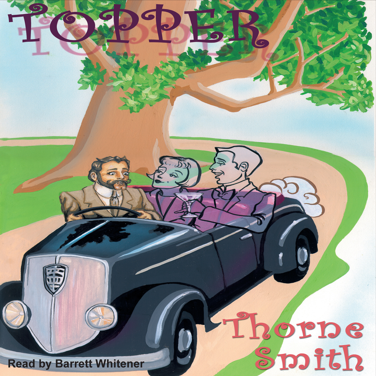 Printable Topper Audiobook Cover Art