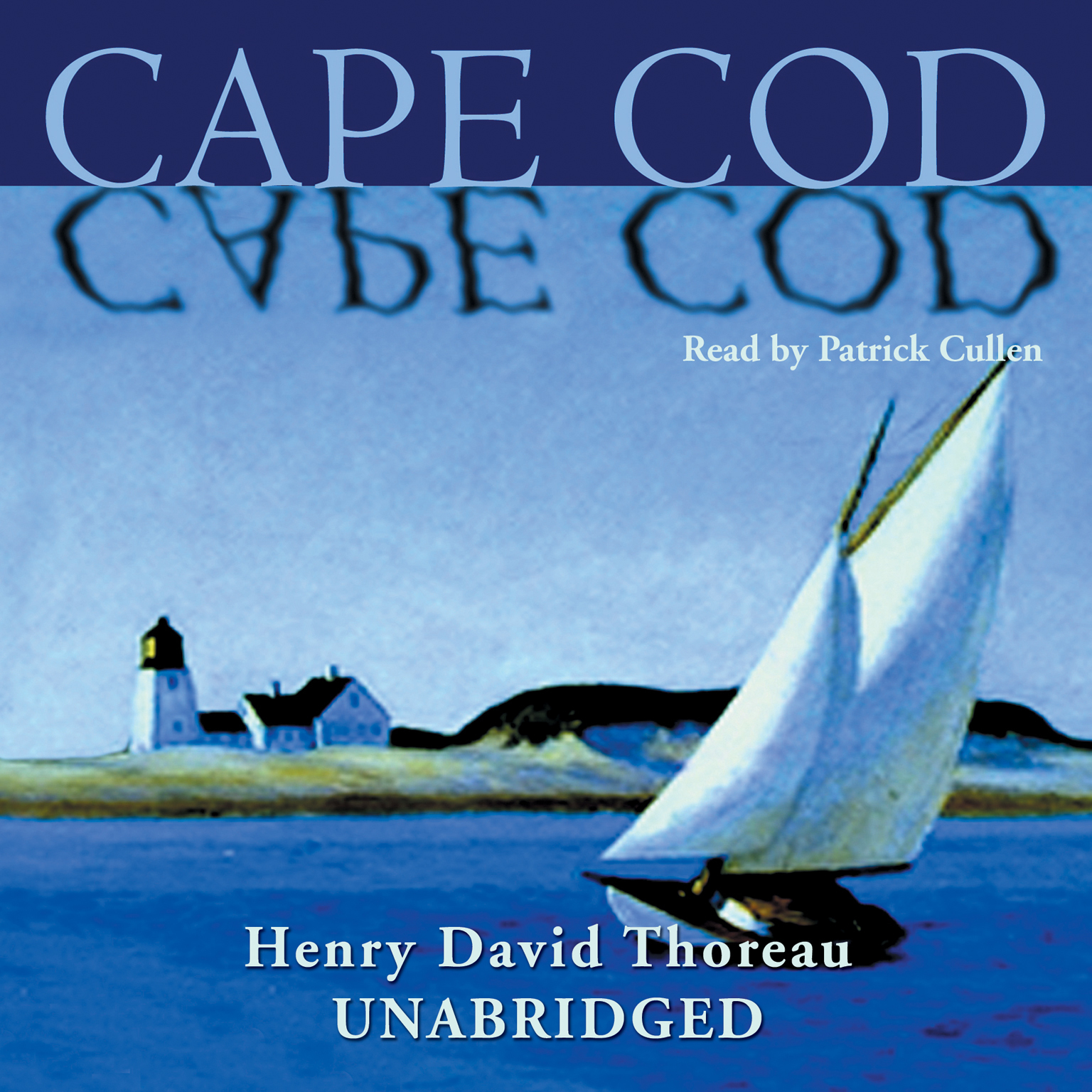 Printable Cape Cod Audiobook Cover Art