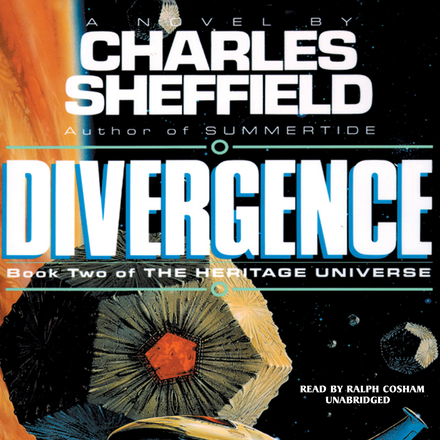 Printable Divergence Audiobook Cover Art