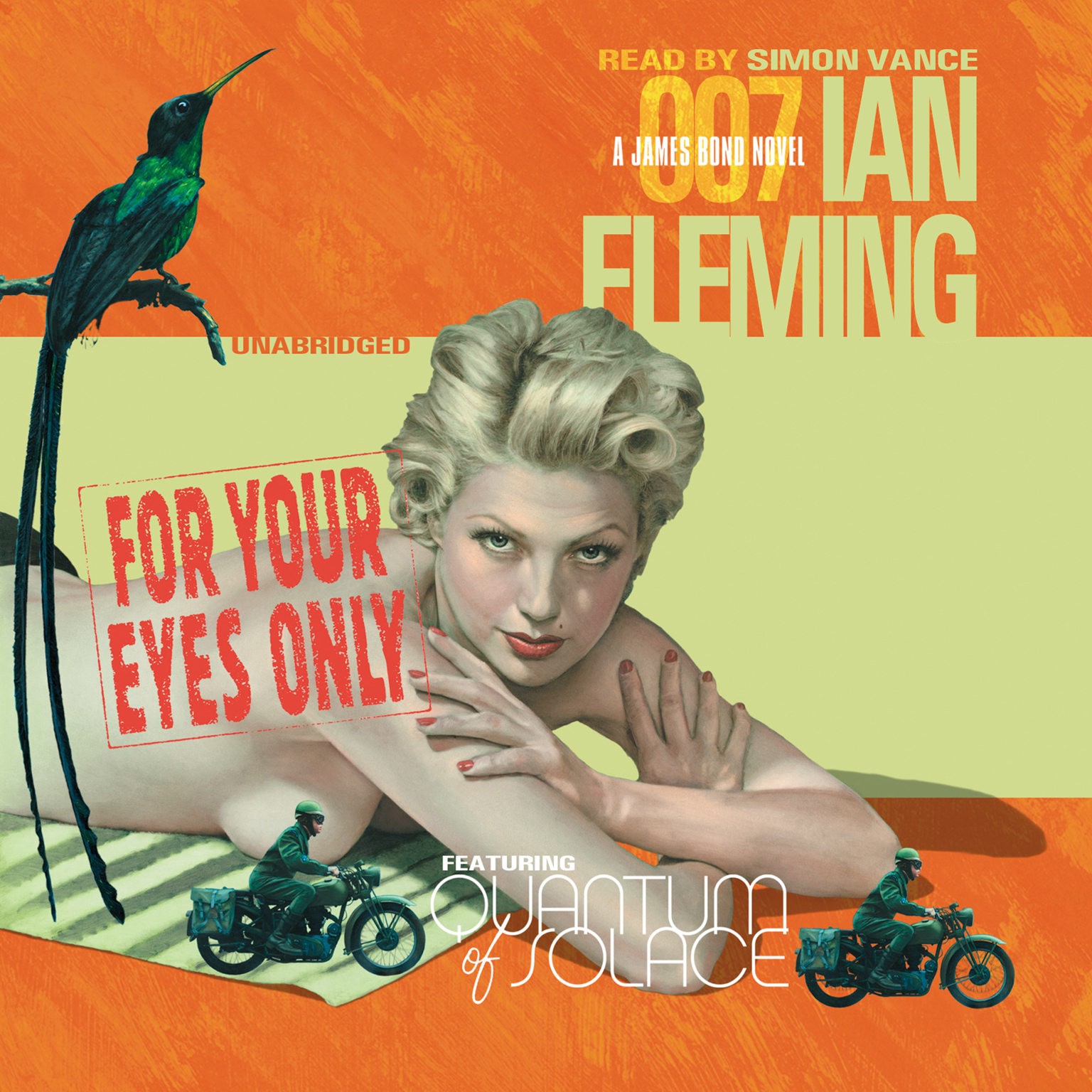 Printable For Your Eyes Only Audiobook Cover Art