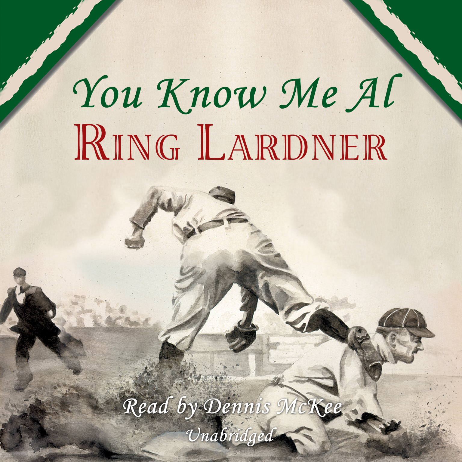 Printable You Know Me Al Audiobook Cover Art