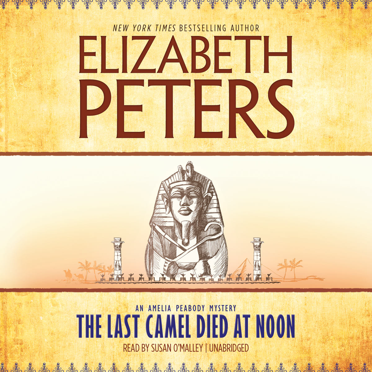 Printable The Last Camel Died at Noon Audiobook Cover Art
