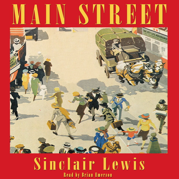 Printable Main Street Audiobook Cover Art