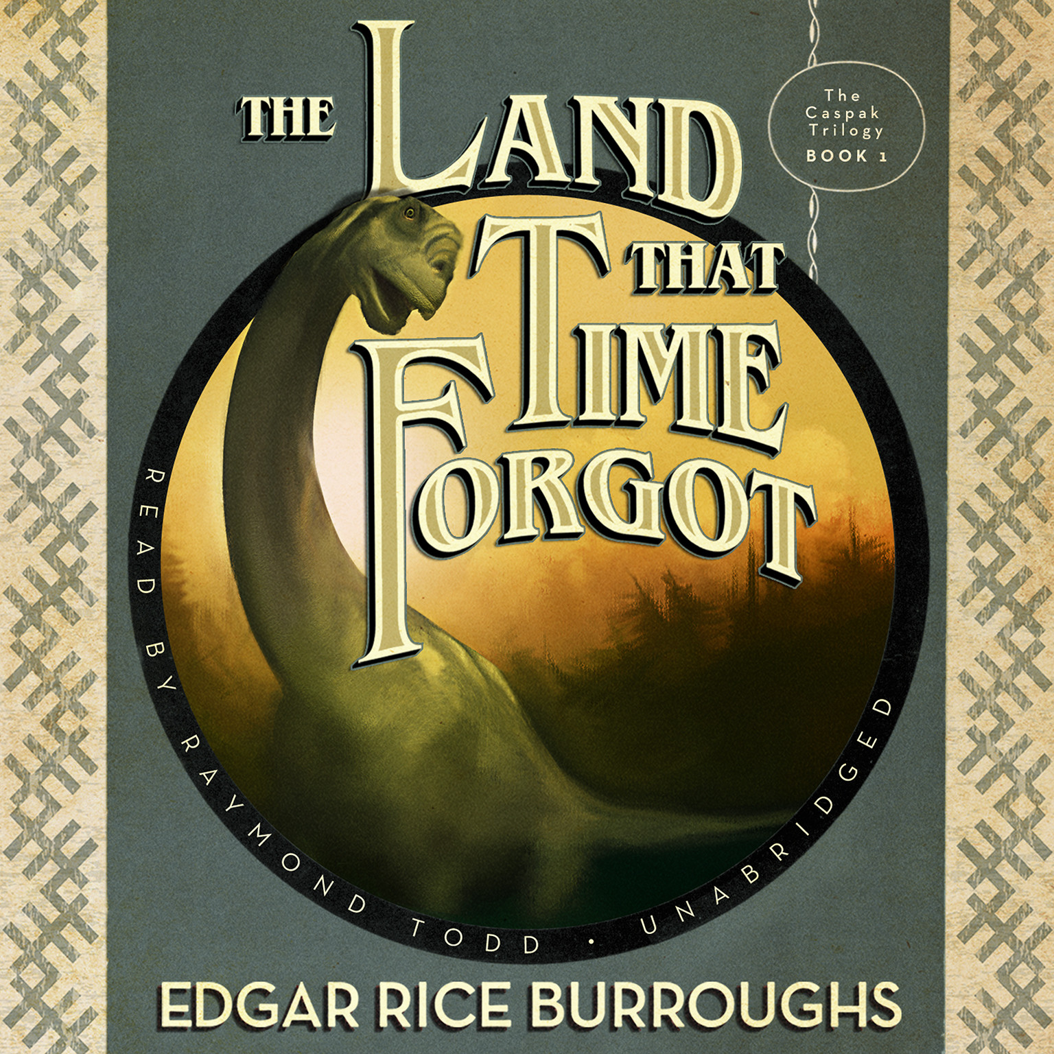 Printable The Land That Time Forgot Audiobook Cover Art