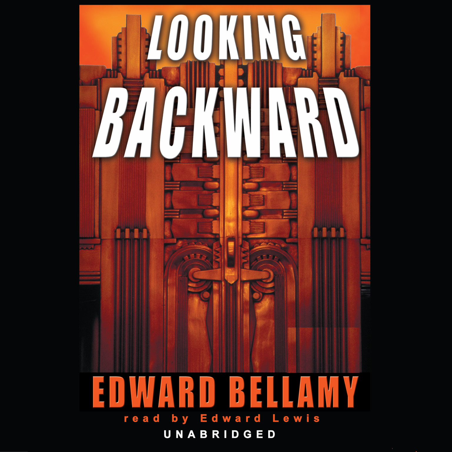 Printable Looking Backward Audiobook Cover Art