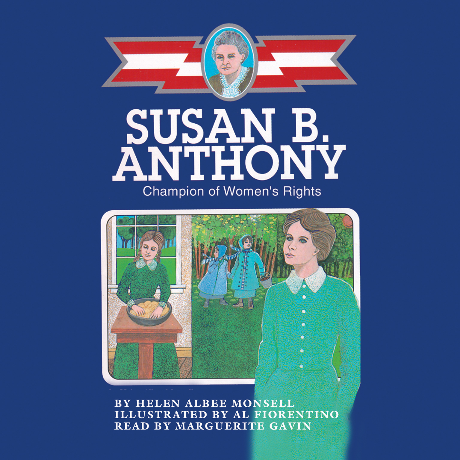 Printable Susan B. Anthony Audiobook Cover Art
