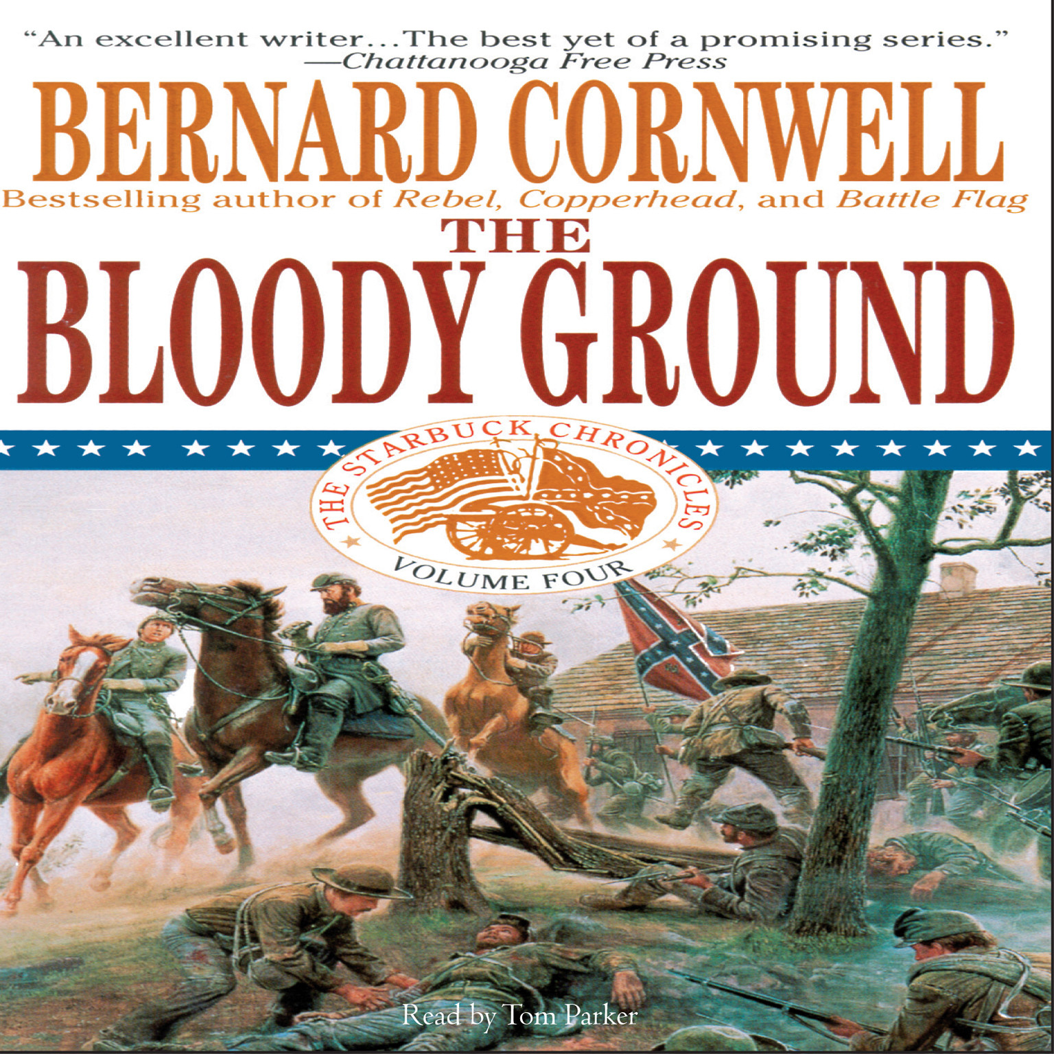 Printable The Bloody Ground: Battle of Antietam, 1862 Audiobook Cover Art