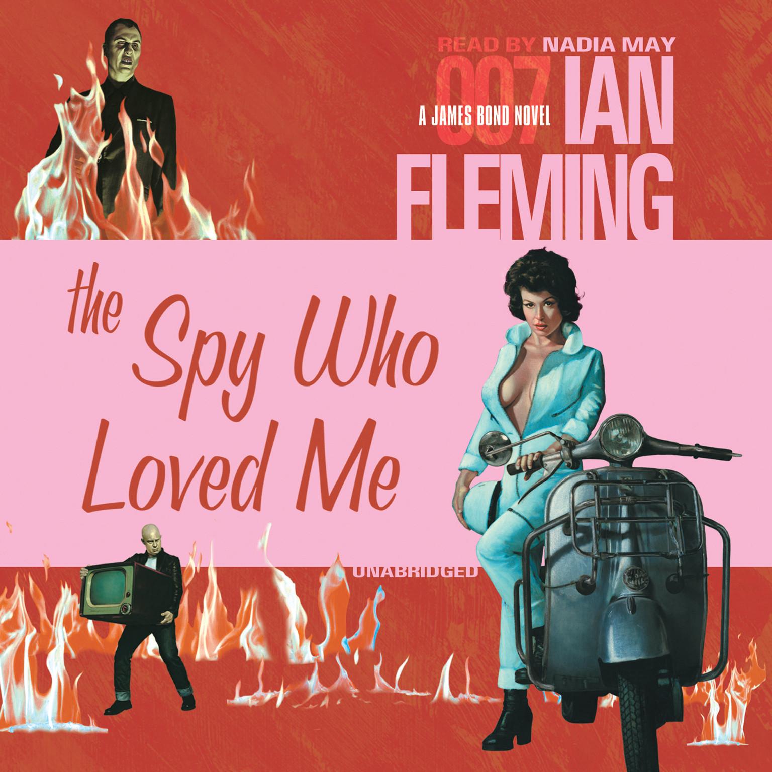 Printable The Spy Who Loved Me Audiobook Cover Art